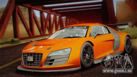 Audi R8 LMS v2.0.4 DR pour GTA San Andreas