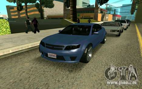 GTA V Fugitive pour GTA San Andreas