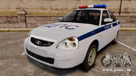 VAZ-2170 Polizei für GTA 4
