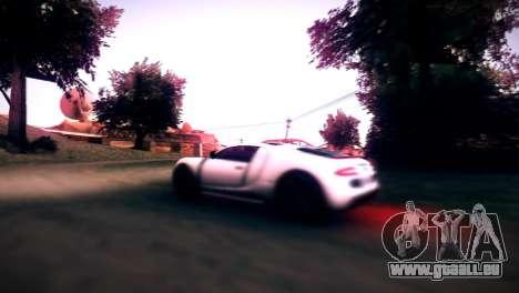 Adder von GTA V für GTA San Andreas Rückansicht