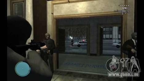 Bank Und Museum Raub für GTA 4