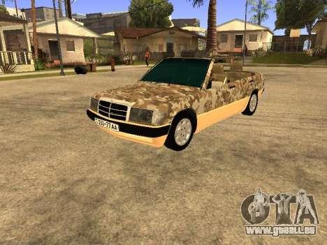Mercedes-Benz 190E Army pour GTA San Andreas