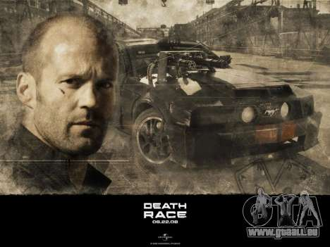 Boot-screens Death Race für GTA San Andreas