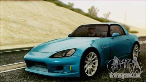 Honda S2000 Daily pour GTA San Andreas laissé vue