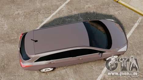 Hyundai i40 2013 Unmarked Police [ELS] pour GTA 4 est un droit
