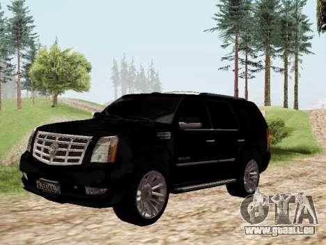 Cadillac Escalade 2010 für GTA San Andreas