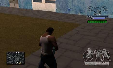 C-HUD pour GTA San Andreas deuxième écran