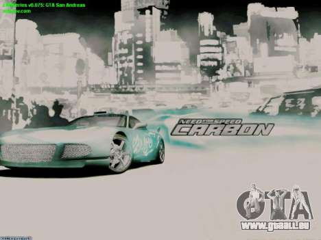 Loading Screens NFS für GTA San Andreas zweiten Screenshot