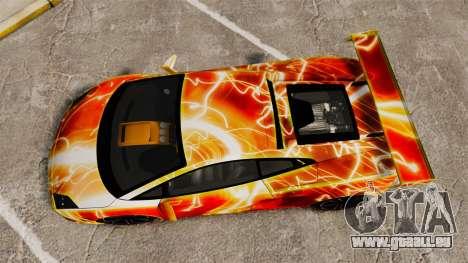 Lamborghini Gallardo 2013 Red Light pour GTA 4 est un droit