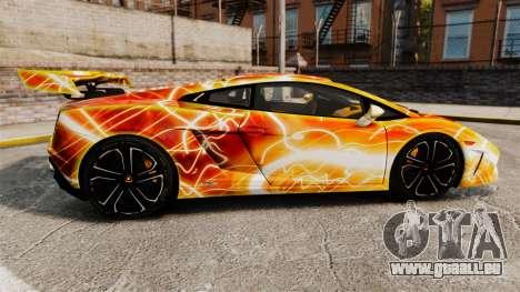 Lamborghini Gallardo 2013 Red Light pour GTA 4 est une gauche