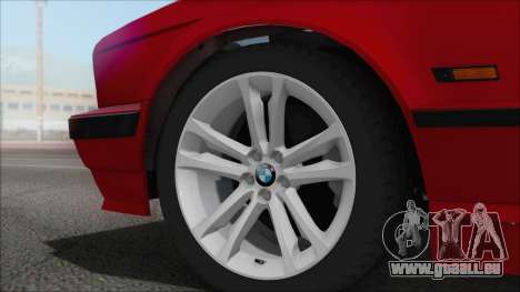 BMW 525i für GTA San Andreas zurück linke Ansicht