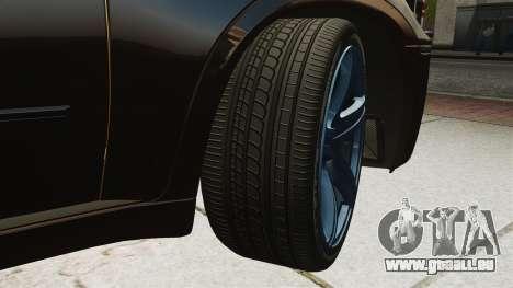 BMW X5M v2.0 für GTA 4 Innenansicht