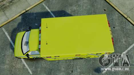 Brute New Liberty Ambulance [ELS] pour GTA 4 est un droit