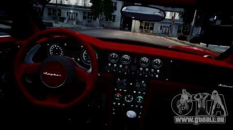 Spyker C8 Aileron Spyder v2.0 für GTA 4 Seitenansicht