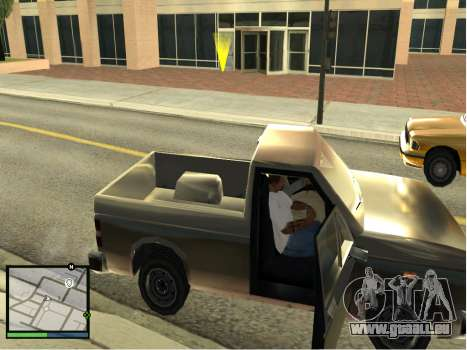 GTA 5 HUD v2 für GTA San Andreas her Screenshot