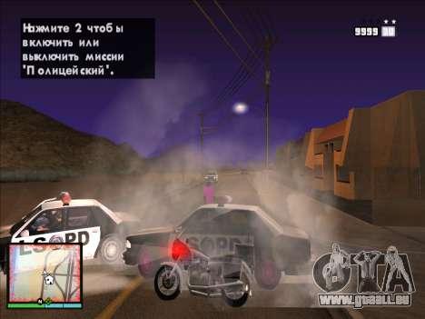 GTA 5 HUD v2 für GTA San Andreas