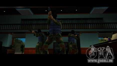 Reskin des voleurs pour le quatrième écran GTA Vice City