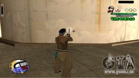 C-HUD By Fedya pour GTA San Andreas troisième écran