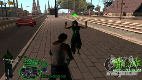 C-HUD Groove by HARDy pour GTA San Andreas deuxième écran
