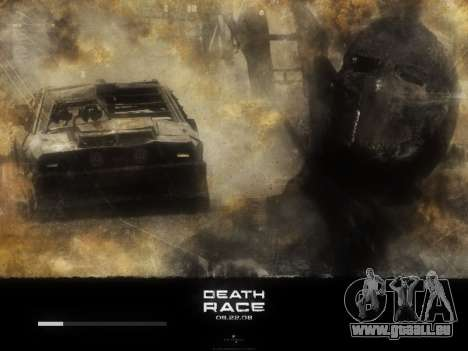 Boot-screens Death Race für GTA San Andreas sechsten Screenshot