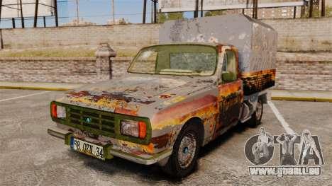 Anadol P2 500 (Rusty) für GTA 4