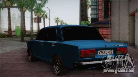 VAZ 2107 für GTA San Andreas rechten Ansicht