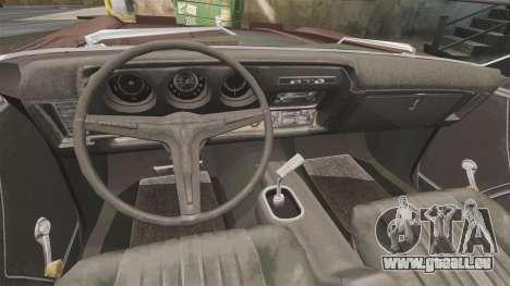 Oldsmobile Toronado 1966 für GTA 4 Rückansicht