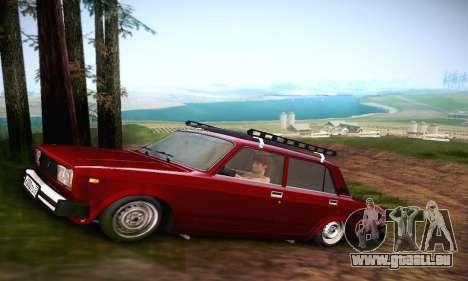 VAZ 21053 für GTA San Andreas Rückansicht