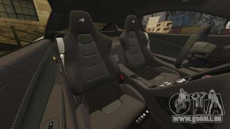 McLaren MP4-12C 2012 [EPM] pour GTA 4 vue de dessus