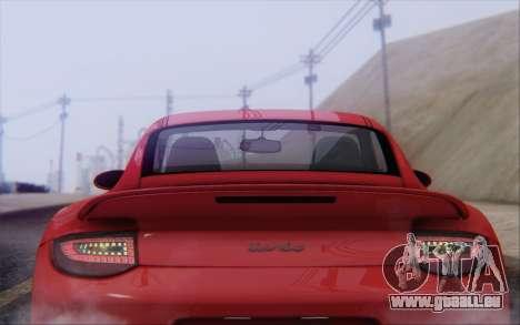 Porsche 911 Turbo pour GTA San Andreas moteur
