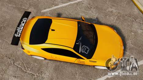 Subaru BRZ 2013 pour GTA 4 est un droit