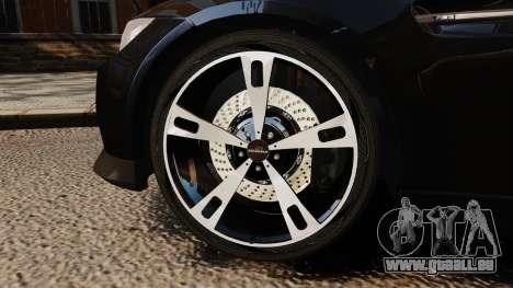 BMW M3 E92 AC Schnitzer ACS3-Sport pour GTA 4 Vue arrière