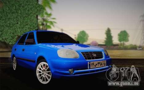 Hyundai Accent Admire 2004 pour GTA San Andreas