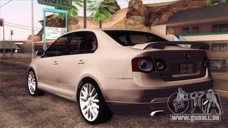 Volkswagen Bora GLI für GTA San Andreas linke Ansicht