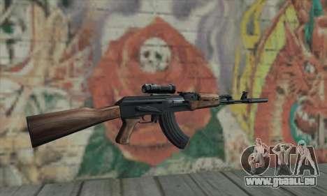 AK-47 Silencer für GTA San Andreas zweiten Screenshot