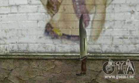 Couteau pour GTA San Andreas