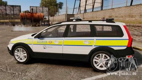 Volvo XC70 Emergency Response Unit [ELS] für GTA 4 linke Ansicht