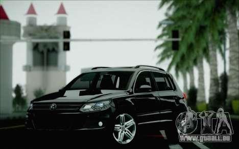 Volkswagen Tiguan 2012 für GTA San Andreas obere Ansicht