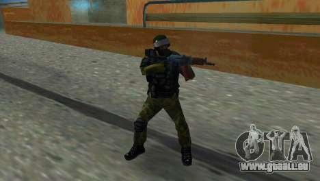 Soldat des Forces spéciales pour GTA Vice City