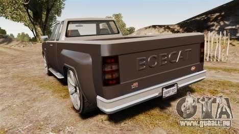 Bobcat XL v2.0 für GTA 4 hinten links Ansicht