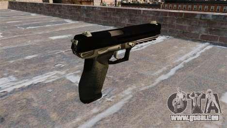 Bauer 1980 SOCOM Pistole für GTA 4 Sekunden Bildschirm