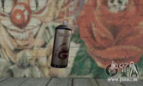 Montana Gold Spray pour GTA San Andreas