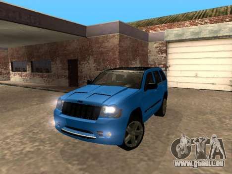 Jeep Grand Cherokee SRT8 Restyling M pour GTA San Andreas