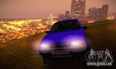 VAZ 21099 pour GTA San Andreas salon