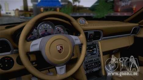 Porsche 911 Turbo Bi-Color pour GTA San Andreas vue arrière