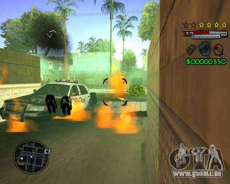 C-HUD by Santoro für GTA San Andreas her Screenshot
