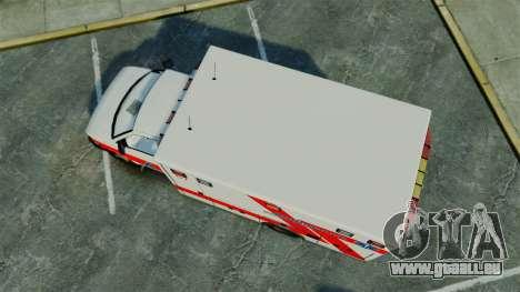 Brute Luxaid Ambulance [ELS] pour GTA 4 est un droit