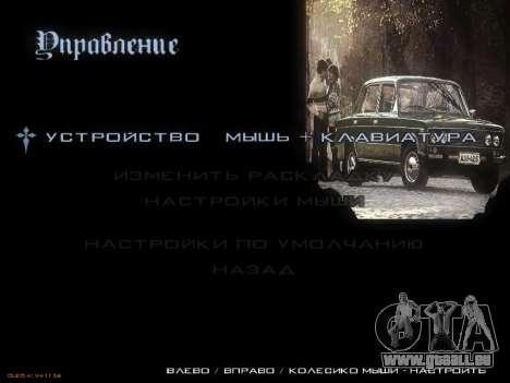 Menu voitures Soviétiques pour GTA San Andreas neuvième écran
