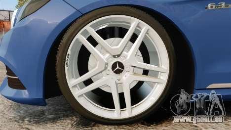 Mercedes-Benz E63 AMG 2014 pour GTA 4 Vue arrière