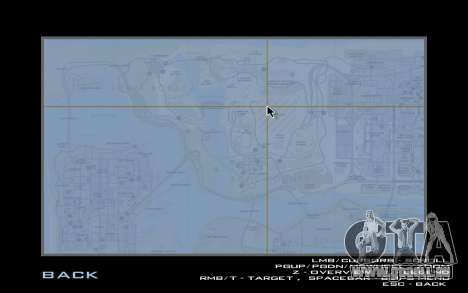 HQ Radar by Rockstar pour GTA San Andreas troisième écran
